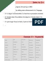 L17-Intro to C++