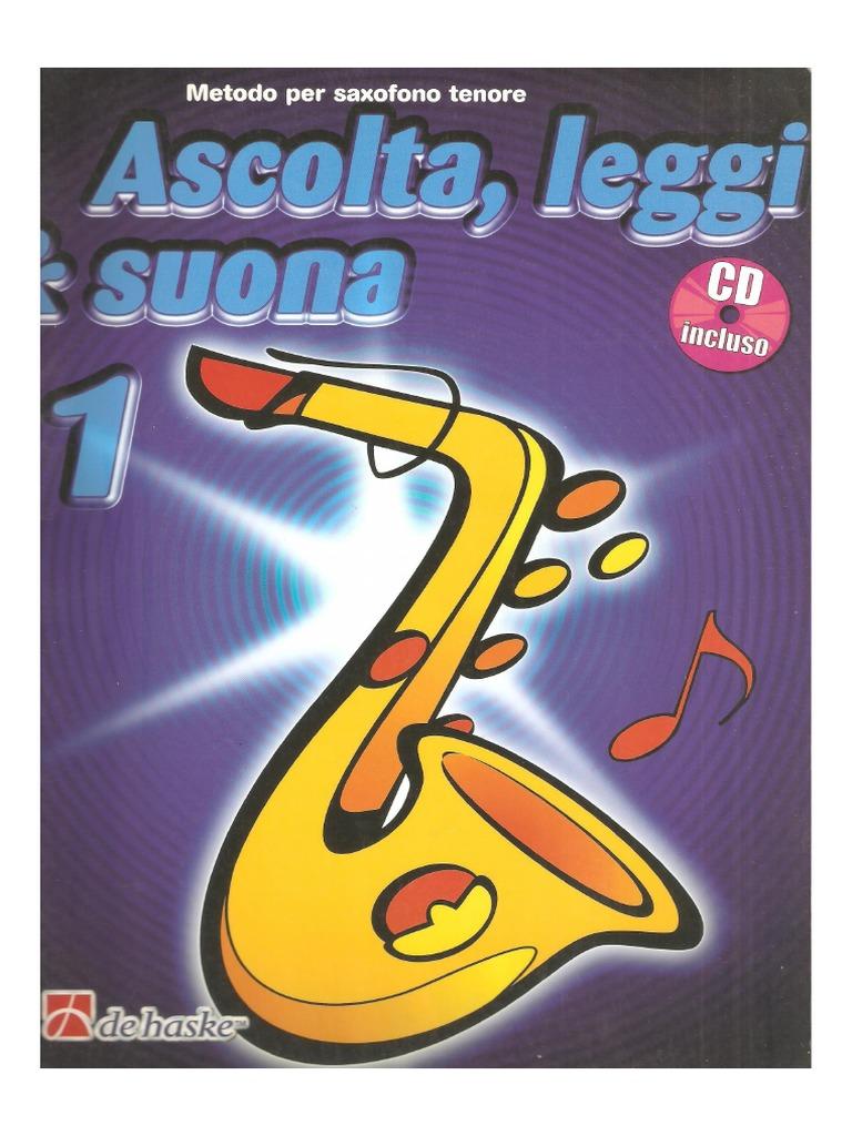 Leggi /& Suona 2 saxofono tenore CD Ascolta