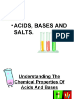 Chemistry P. - ACIDS BASES AND SALTS
