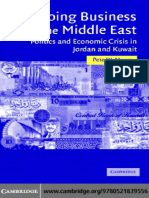 Doing Business in the Middle East Jordan and Kuwait Book