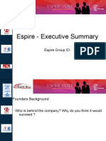 Espire Executive Summary