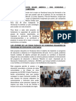 Proyectos de Honduras