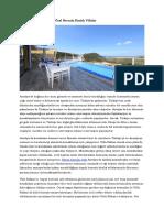 2018'in Yükselen Trendi Özel Havuzlu Kiralık Villalar