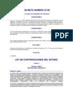 DECRETO DEL CONGRESO 57-92 ley de compras y contrataciones.pdf