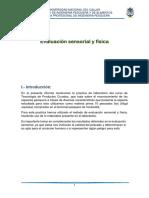 Evaluacion Sensorial y Fisica 1