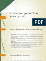 Panorama general de prescripción.pptx