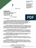 Floreen Campaign Letter
