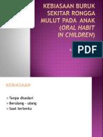 Kebiasaan Buruk Pada Anak(1)