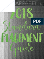 2018 placement guide
