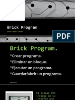 Clase 1.7.4 Brick Program / PROGRAMACION BRICK EV3 LEGO