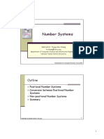 1 Number Systems