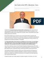 04/10/2018 Necesario replantear fusión entre SHF y Banobras.-  Cano Vélez