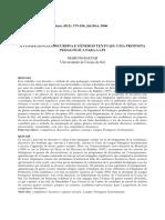 A Competência Discursiva e Gêneros Textuais- Uma Proposta Pedagogica