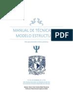 Manual de Tecnicas Del Modelo Estructura