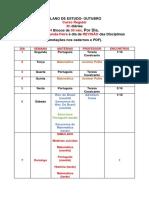 Plano de estudo EsSA 2019.
