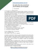 Simulado Sobre Uso Dos Conectivos Concurso Professor de Português