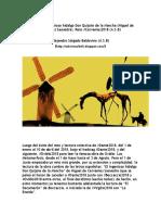 #Cervantes2018 (Lectura Colectiva) - Recopilación por capítulos (El ingenioso hidalgo Don Quijote de la Mancha)