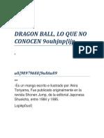 Dragon Ball Ok