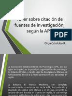 Formato APA - Referenciación General