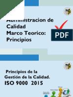 Principios de La Gestión de Calidad ISO 9000 2015