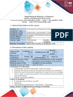 Activities guide and evaluation rubric - Task 1 - Recognition task forum - Task 2 - Pre-knowledge task.doc