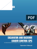 Operators Manual Excavator Control GPC A