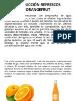 PRODUCCIÓN-REFRESCOS ORANGEFRUT