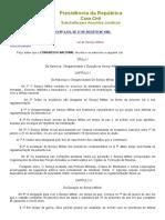 Lei Do Serviço Militar- Lei No 4.375 de 17 de Agosto de 1964