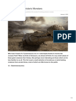 Paleontologyworld.com-12 Terrifying Prehistoric Monsters