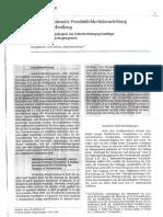Mehrdimensionale Persönlichkeitsbeurteilung im Maßregelvollzug. Ein Beurteilungsbogen