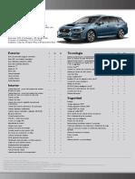 Ficha Subaru Levorg 1.6 Gt
