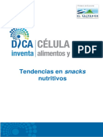 Pineda. s.f. Tendencias en Snacks Nutritivos.
