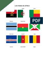 Banderas de Africa