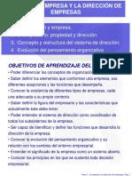 TEMA 1 LA EMPRESA Y LA DIRECCIÓN DE EMPRESAS.ppt