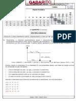 Gabarito Ae1 Química 2 Ano 2ª Aplicação