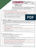 Gabarito Ae2 Filosofia-sociologia 2ano