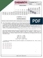Gabarito Ae2 Química 2ano