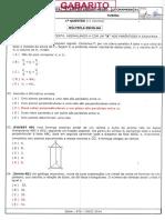 Gabarito Ae2 Matemática 2ano