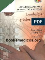 Guia de Masaje Para Terapeutas Manuales Lumbalgia y Dolor Pevico