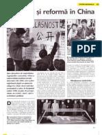 China - Tulburari Si Reforma
