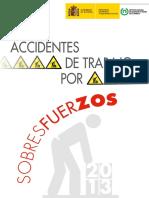 Accidentes de Trabajo Por Sobresfuerzos 2013