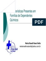 Características Famílias Codependentes