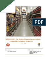 Case Study on MTR's Strategic Competitive Advantage
