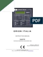 INSTRUCTION MANUAL SMPR