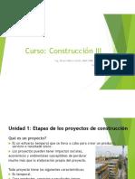 Contrucción III Unidad 1 Completa