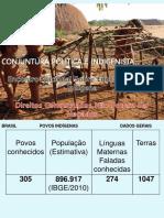 Análise Da Realidade Indígena No Brasil - Outubro de 2014