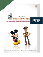 Monsoon Wedding, Disney Weds Pixar - Case Study