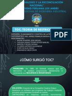TEORIA DE LAS RESTRICCIONES presentacion.ppt