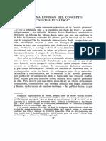 """""""Para una revisión del concepto de novela picaresca"""" Fernando Lázaro Carreter"""