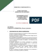 (06) Rehacer Derecho Corportivo i